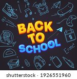 back to school special offer....   Shutterstock .eps vector #1926551960