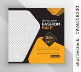 ladies fashion social media... | Shutterstock .eps vector #1926558230