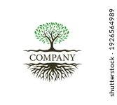 Abstract Dynamic Tree Logo...