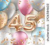 anniversary greeting card with... | Shutterstock .eps vector #1926584603
