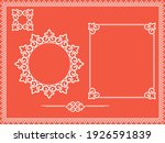 vintage set. floral elements... | Shutterstock .eps vector #1926591839