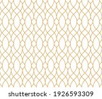 the geometric pattern with wavy ... | Shutterstock .eps vector #1926593309