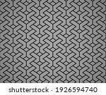 abstract geometric pattern. a... | Shutterstock .eps vector #1926594740