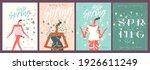 spring  summer  sale. a set of... | Shutterstock .eps vector #1926611249