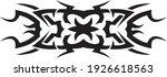ornament tribal tattoo vector... | Shutterstock .eps vector #1926618563