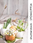 Easter Decor In A Natural...