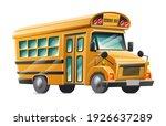 vector cartoon style yellow ... | Shutterstock .eps vector #1926637289