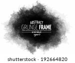 abstract grunge splash with... | Shutterstock .eps vector #192664820