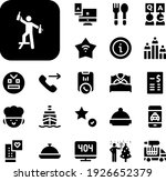 service collection vector icons ...