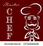 master chef | Shutterstock .eps vector #192666668