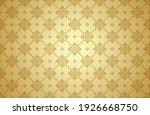 thai art and asian style luxury ... | Shutterstock .eps vector #1926668750