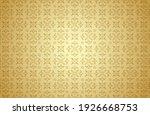 thai art and asian style luxury ... | Shutterstock .eps vector #1926668753