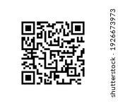 Qr Code Icon Vector Isolated On ...