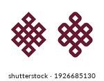 tibetan endless knot  ...   Shutterstock .eps vector #1926685130