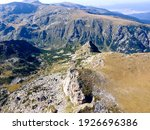 Aerial View Of Malyovitsa Peak  ...