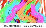 abstark background. paint... | Shutterstock . vector #1926696713
