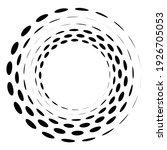 Geometric Circular Spiral ...