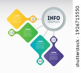 dynamic infographics or mind...   Shutterstock .eps vector #1926715550