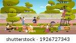 gardeners taking care of plants ...   Shutterstock .eps vector #1926727343
