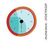 time clock device isolated icon ... | Shutterstock .eps vector #1926744269