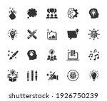 vector set of creativity flat...   Shutterstock .eps vector #1926750239