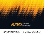 yellow and black diagonal... | Shutterstock .eps vector #1926770150