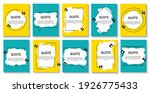 set of banners  frame for... | Shutterstock .eps vector #1926775433