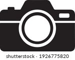 camera icon  in trendy flat... | Shutterstock .eps vector #1926775820