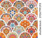seamless pattern with colorful... | Shutterstock .eps vector #1926799193
