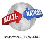 multinational word arrows... | Shutterstock . vector #192681308