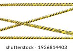 covid 19 caution and danger... | Shutterstock . vector #1926814403