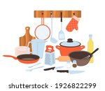 kitchen utensils. baking and...   Shutterstock .eps vector #1926822299