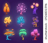 fairytale plants. magic tree...   Shutterstock .eps vector #1926831596