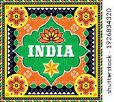 india vector design inspired by ... | Shutterstock .eps vector #1926834320