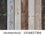 Layers Of Wood Plank Wall....