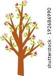 love tree | Shutterstock . vector #192686990