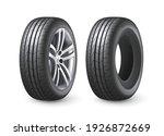 realistic shining disk car... | Shutterstock .eps vector #1926872669