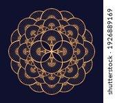 oriental luxury pattern mandala ... | Shutterstock .eps vector #1926889169