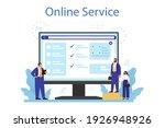 personnel screening online...   Shutterstock .eps vector #1926948926