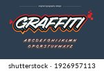 orange and red bold white...   Shutterstock .eps vector #1926957113