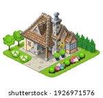 printisometric 3d house... | Shutterstock . vector #1926971576