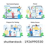software testing online service ... | Shutterstock .eps vector #1926990530