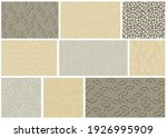 seamless patterns with twisted... | Shutterstock .eps vector #1926995909