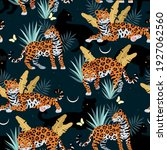 seamless vector pattern with... | Shutterstock .eps vector #1927062560