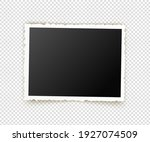 old photo. retro image frames.... | Shutterstock .eps vector #1927074509