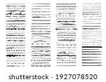 set of artistic pen brushes.... | Shutterstock .eps vector #1927078520