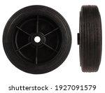 Black Plastic Wheel With Tire...