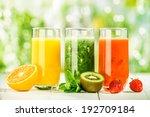 Trio Of Fresh Healthy Fruit...