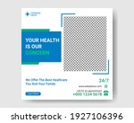 medical social media post.... | Shutterstock .eps vector #1927106396