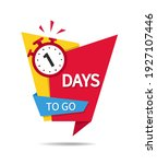 countdown of 1 day sale. 3 days ... | Shutterstock .eps vector #1927107446